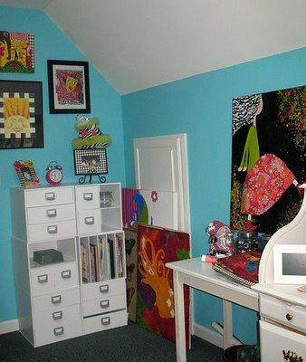 Art attic corner