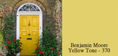 Yellow Front Door