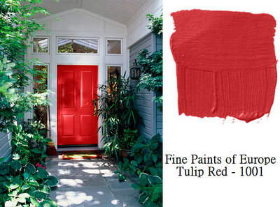 Tucker Red Front Door