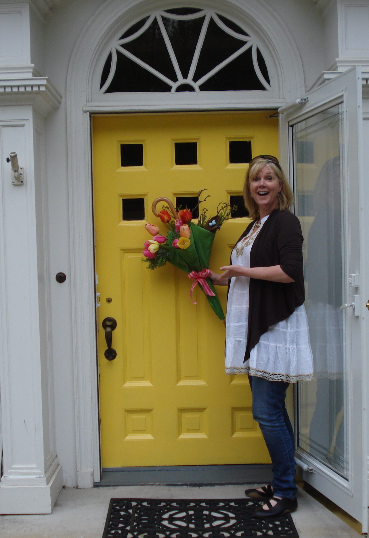 Yellow Front Doors Are Not For The Faint Of Heart Or Neighborhood Rebel Becolorful