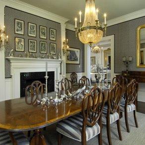 Gray dining room mls