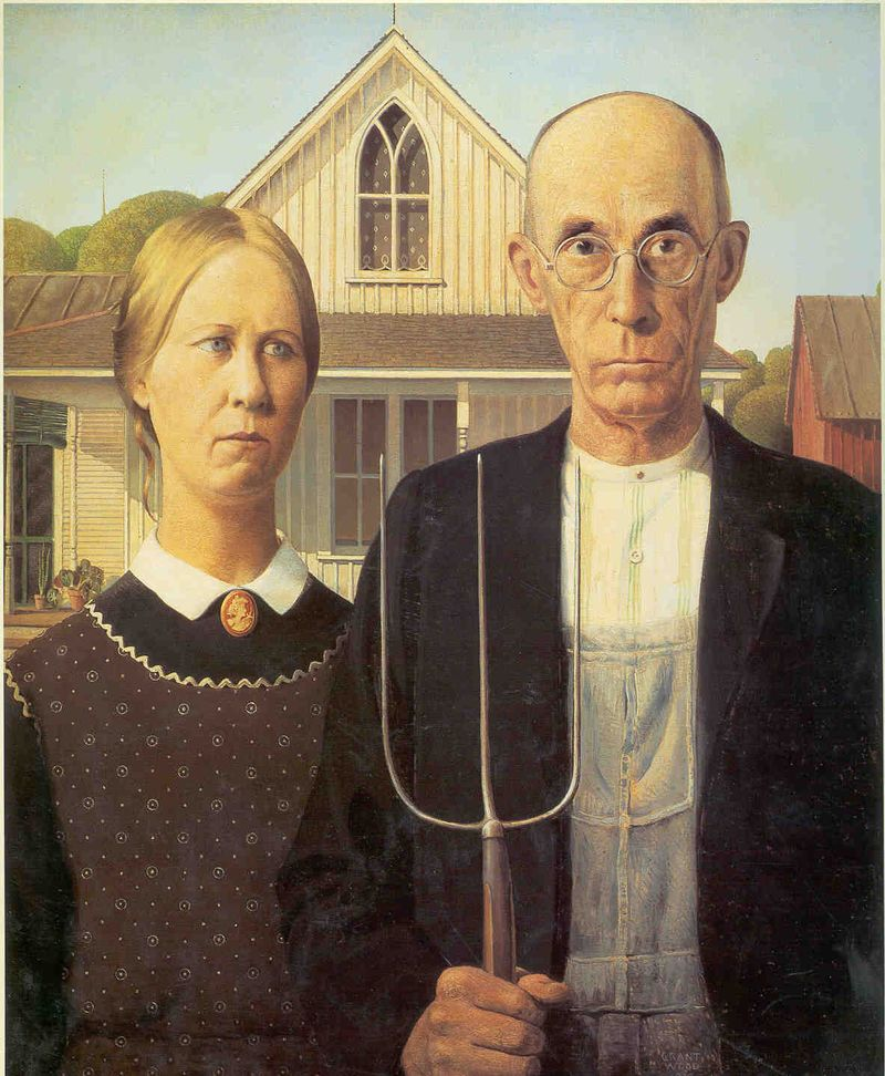 Iowa American Gothic