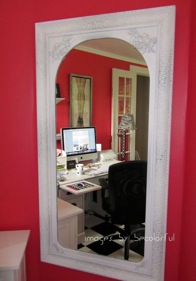 Office mirror shot