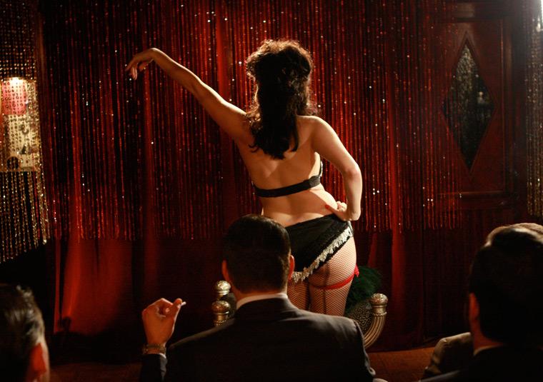 Madmen strip club amc