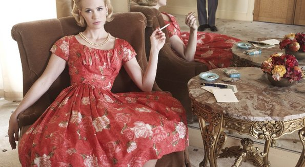 Betty draper floral dress