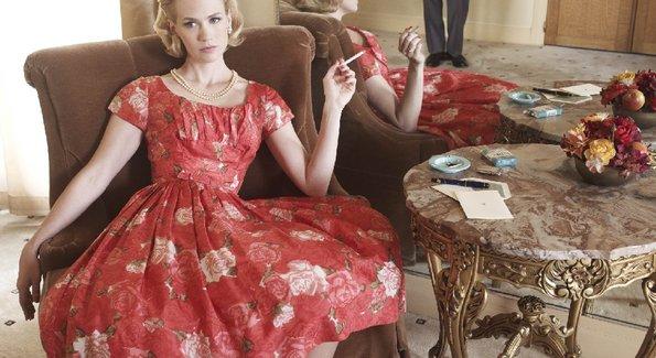 Betty draper floral dress
