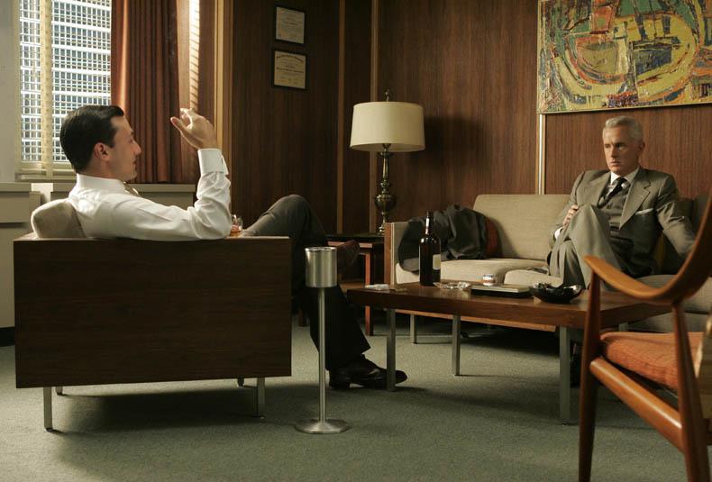 Madmen don's office amc