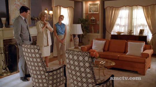 Draper living room
