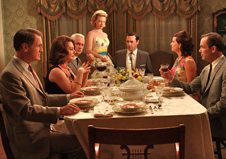 Madmen dining party