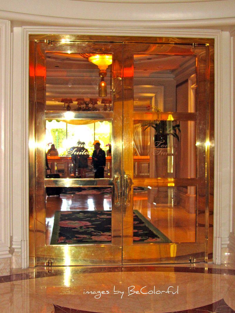 Vegas tower suites brass doors