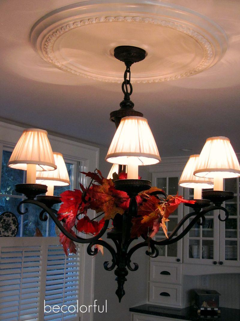 Fall flair 2010 kitchen light