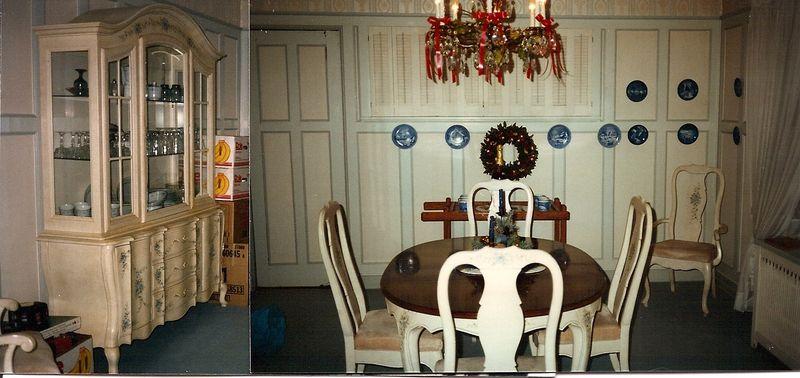 Linden dining room circa 1970's