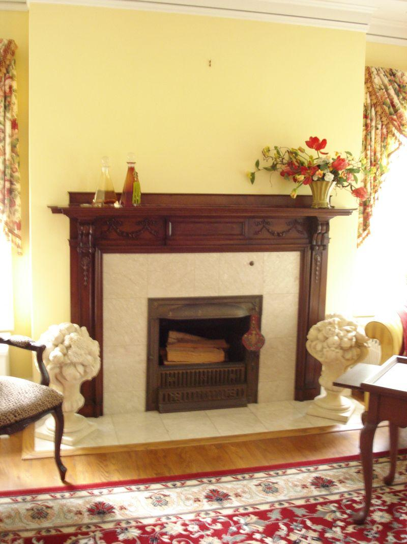 Fireplace without picture