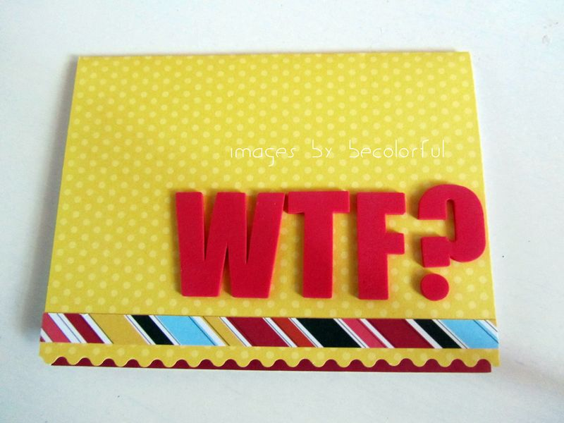 Office wtf card from liz