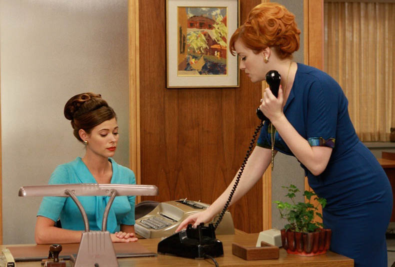 Madmen receptionists amc