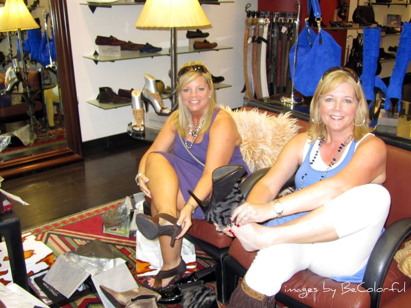 Vegas shopping with glynda