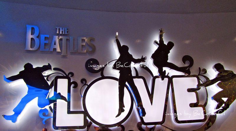 Vegas beatles love