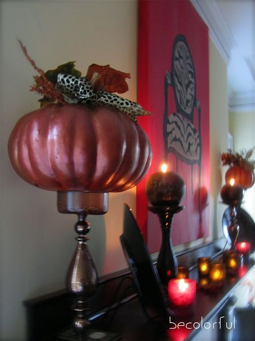 Mantel view from down the side
