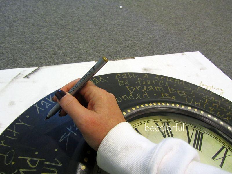 Trav door 2010 fall clock work in progress