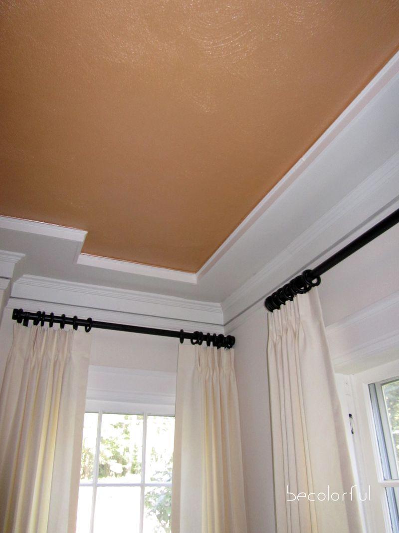 Living room redo draperie rods