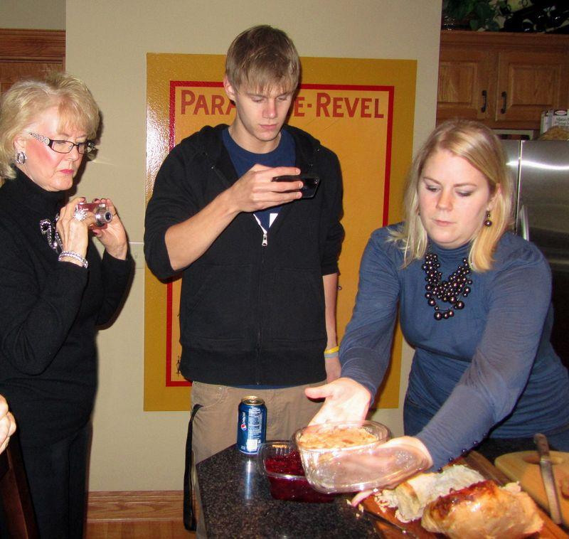 Mom Adam and Liz thanksgiving 2010