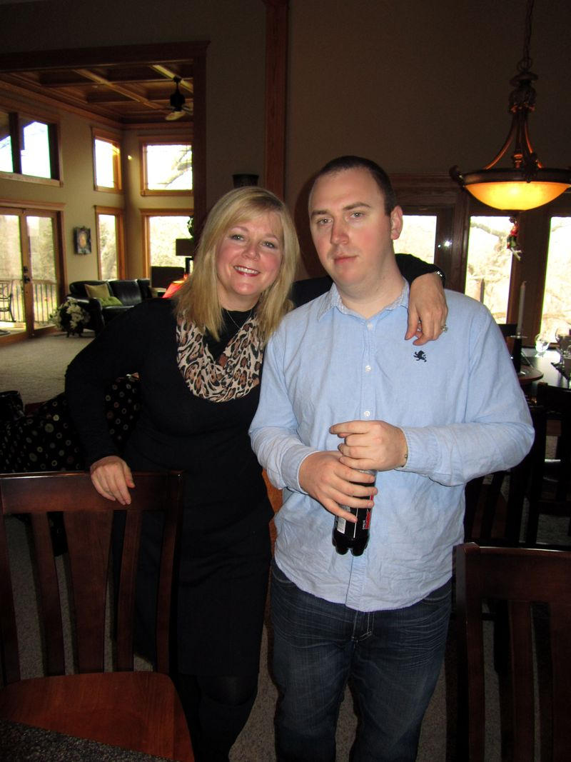 Pam and James Thanksgiving 2010