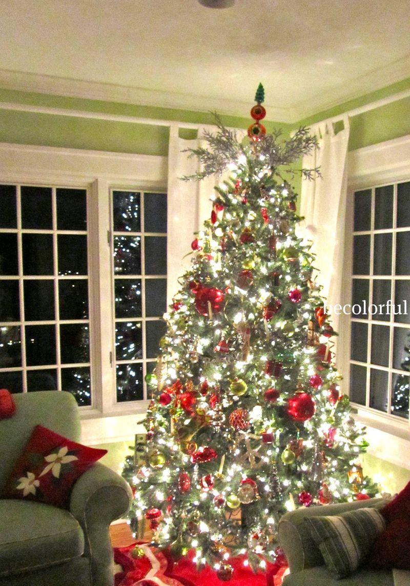 Green room tree