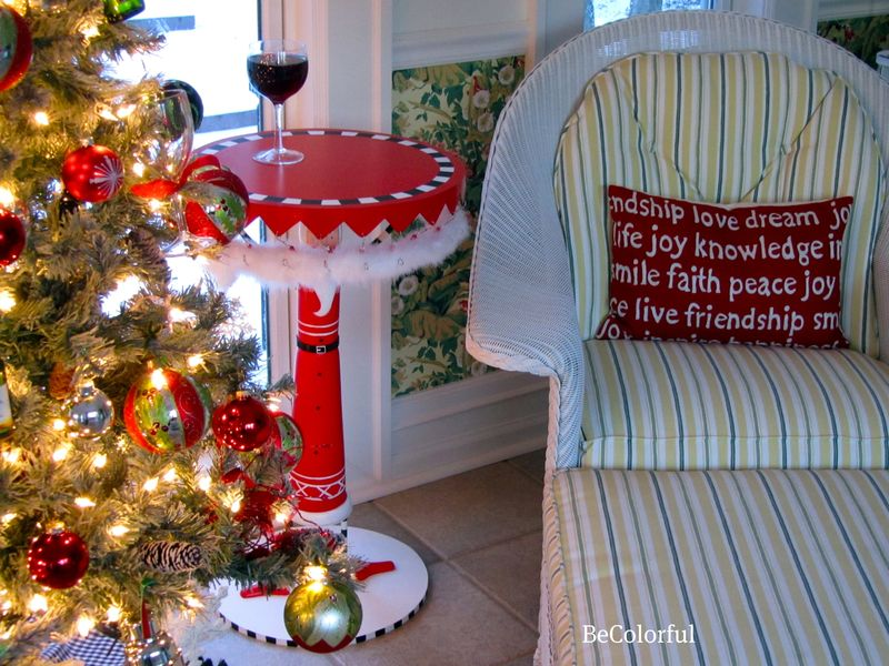 Santa Table and Chair
