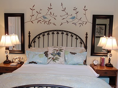 Thrifty bedroom makeover