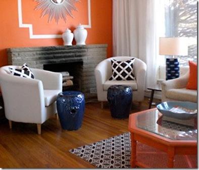 Caitlinwilson navy orange and white