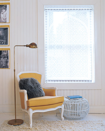 Martha stewart yellow chair