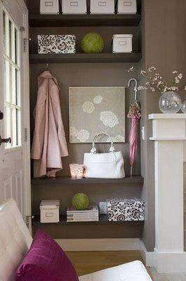 Decor pad gray and pink