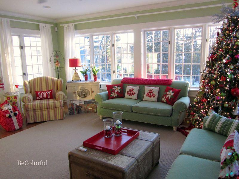 Green Room at Christmas East2
