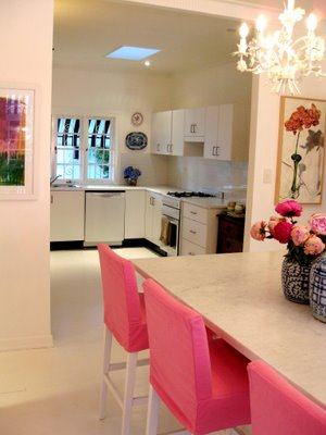 Absolutely beautiful things pink kitchen request