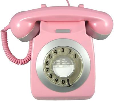 Geek alerts pink phone