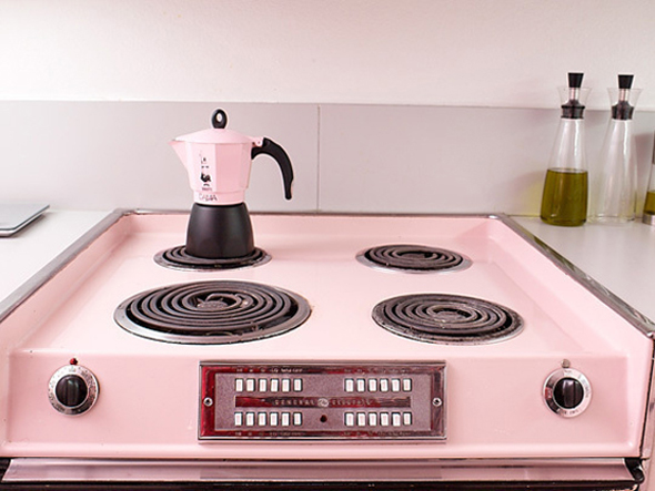 Modern pink furniture kitchen set desi home design cornergn