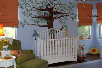 Creative baby nursery rooms