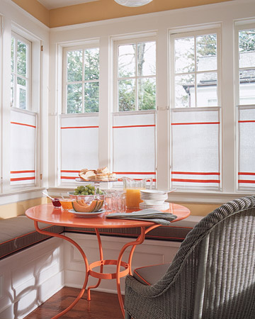 Orange kitchen martha stewart