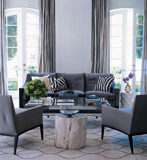 Elle decor gray living room