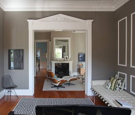 Decor pad gray foyer