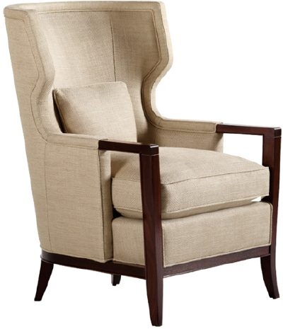 Wing chair luxury home interiors white