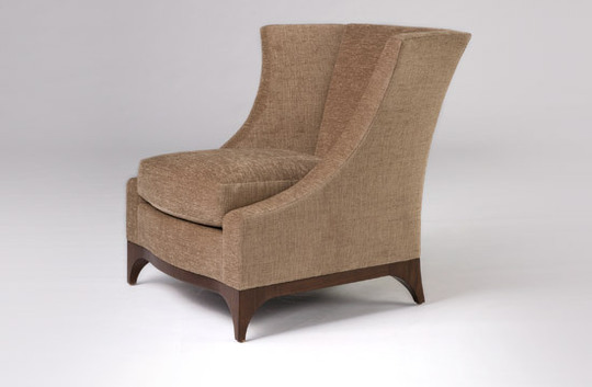 Wing chair apartment therapy