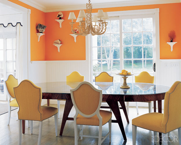 Elle Decor Tangerine