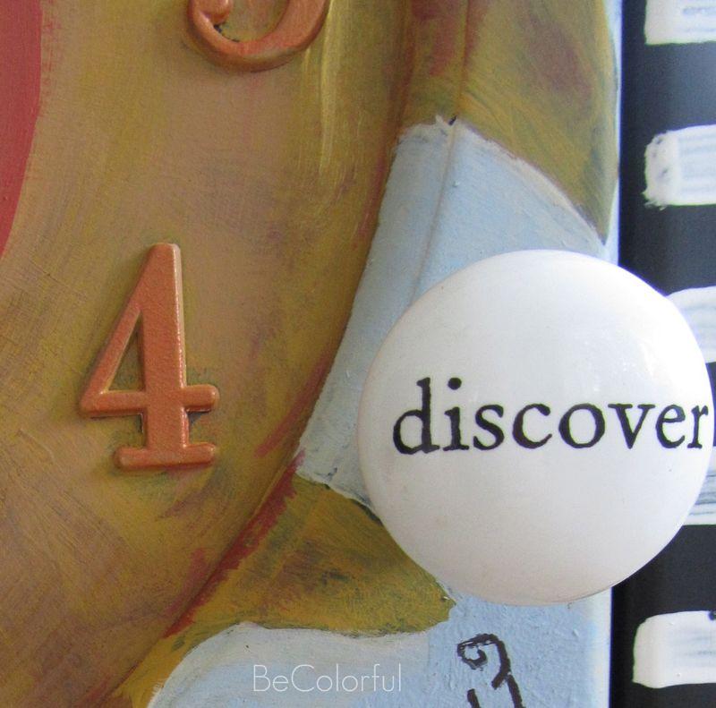Betsy's clock discover knob