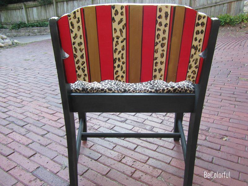 Muriel's vanity chair back