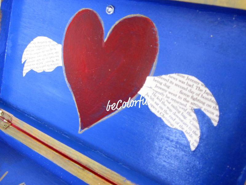 Love box open lid