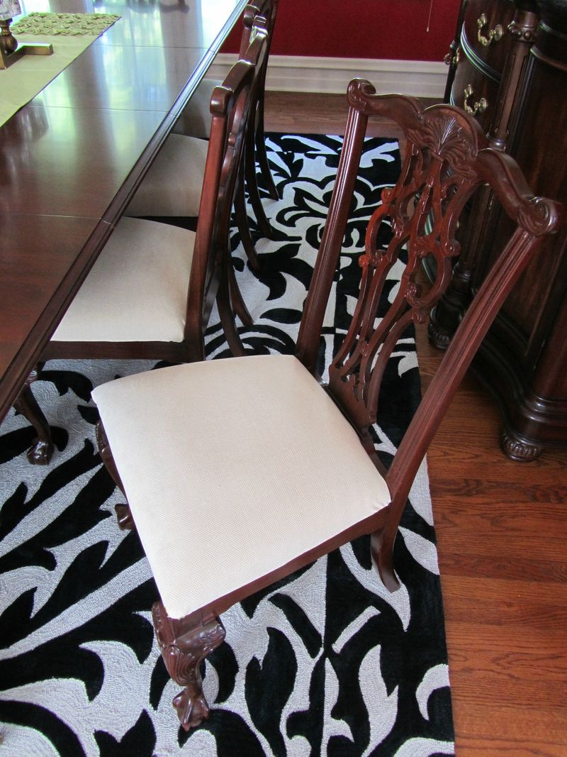 Recovered dining chair