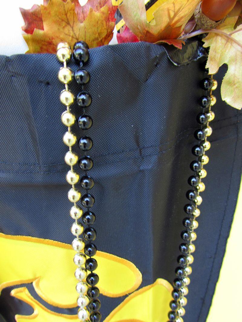 Hawkeye front door beads
