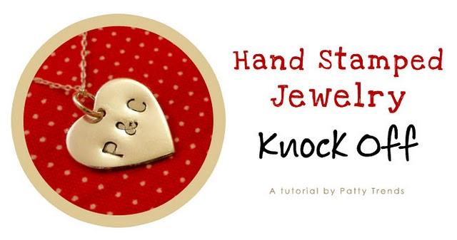 Hand Stamped Jewelry header