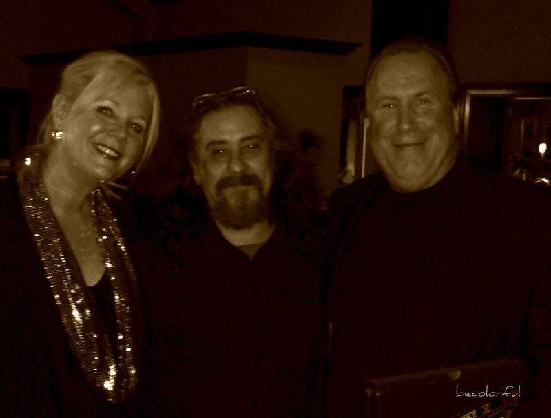 Mike, Pam and Tomas Lazansky